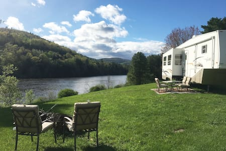 Private RV camping experience at River's Edge
