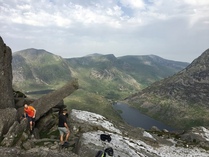 The view of Ogwen Valley