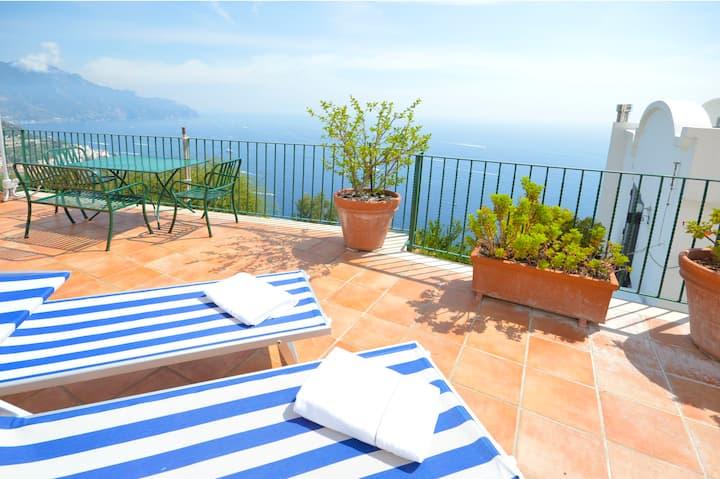 2 Bdrms apt with Terrace, Amalfi