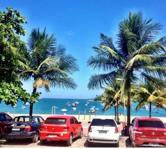 Kitinet em frente à praia!! - Mangaratiba