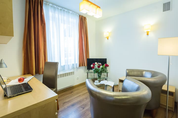 Come&Stay Wilanów/Warsaw Apartments (31m2, A2)