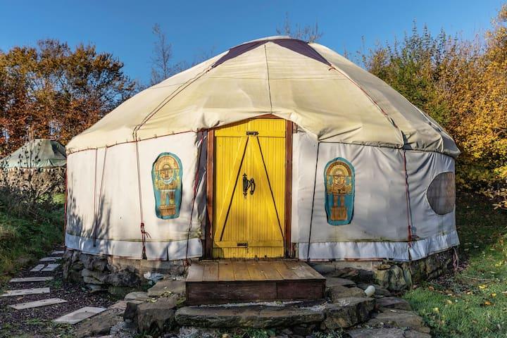 Sunset Yurt, Eco Sustainable Camping