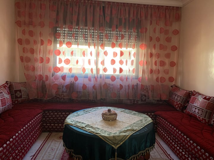 Apartment near the beach in Rabat