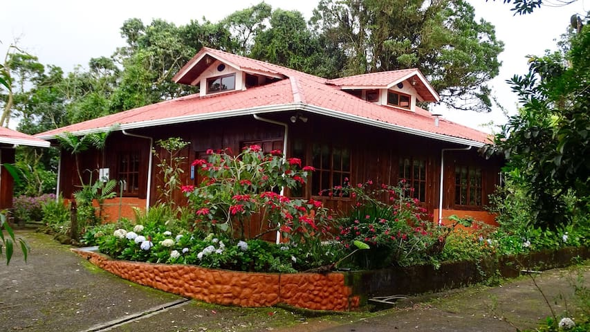 SPRING HOUSE ECOLODGE CASA GRANDE - Vara Blanca - กระท่อม