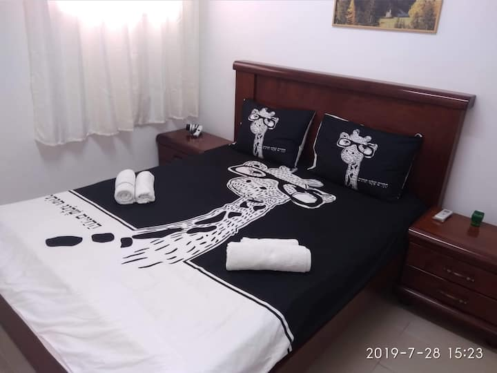 Three-room apartment Haifa-Bat Galim, Rambam