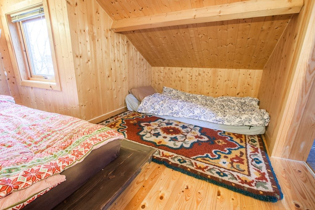 Cozy bed space, its bigger than it looks. If you are 180 cm it should be fine.