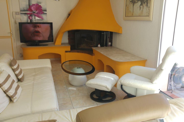 Grande villa ,calme, spacieuse ,agréable,