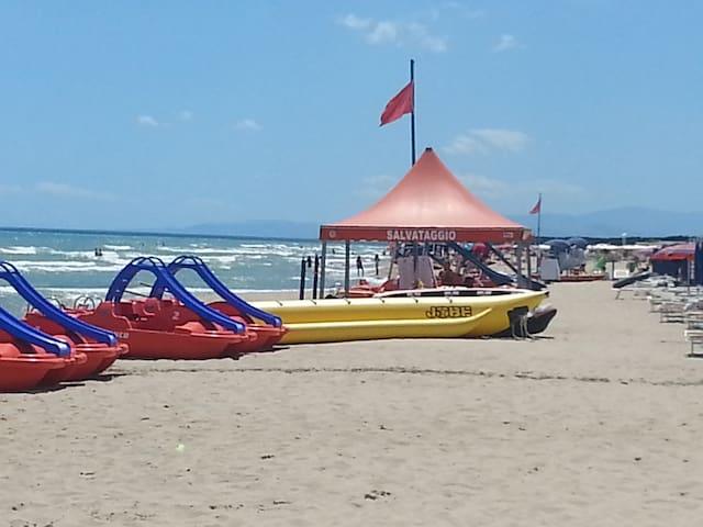 Marina di Ginosa beach.