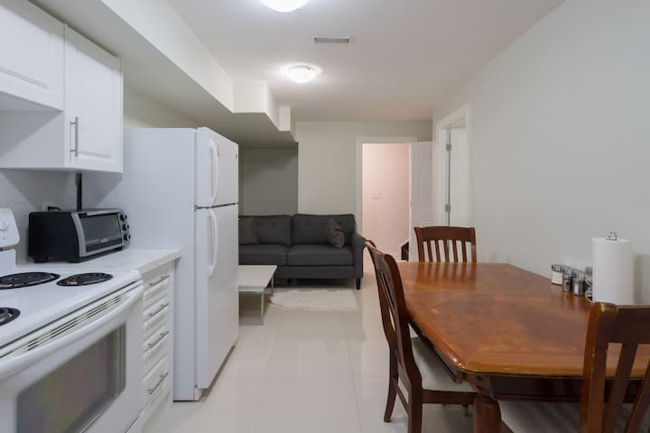 Leslieville Apartment with Parking