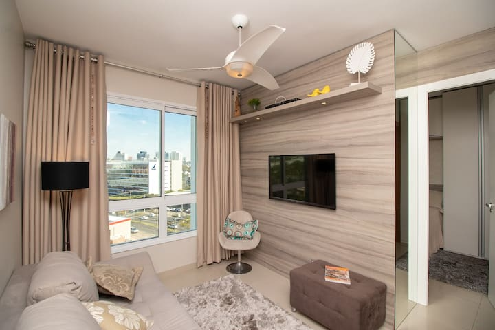 Lindo loft em Condomínio de luxo, zona nobre