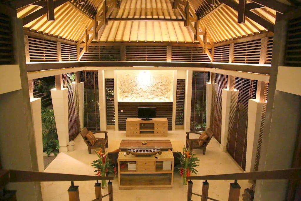 The ambience, Andakara Villa family area