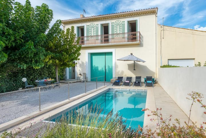 Charming two bedroom villa with large pool