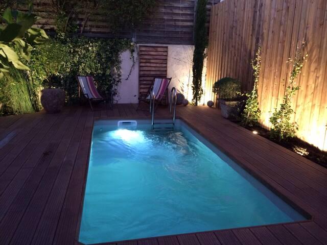 Arcachon - Maison Art Déco piscine - Arcachon - Huis