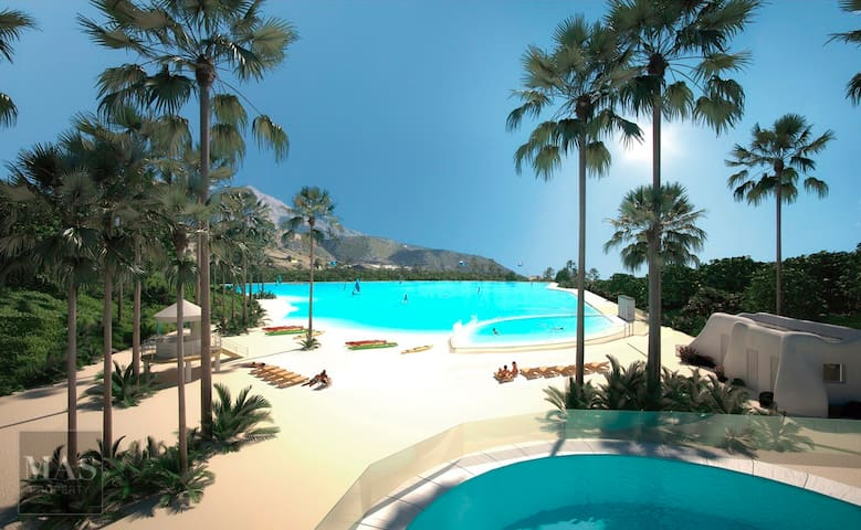Alcazaba Hills, Cristal Lagoon, Estepona, Malaga - เอสเตโปนา - อพาร์ทเมนท์