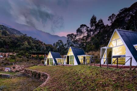Camp Footprint - Wilderness Getaway - All 3 cabins