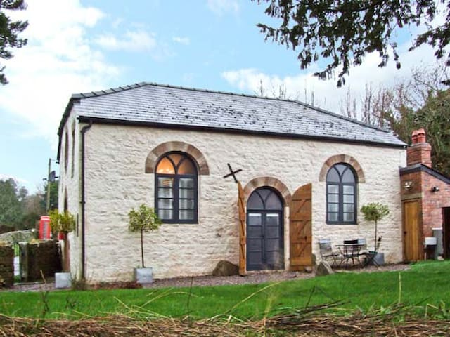 THE OLD BAPTIST CHAPEL, pet friendly in Penallt, Ref 22484