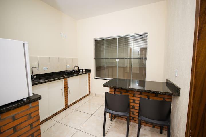 Apartamento duplo 2 pessoas em Foz do Iguaçu