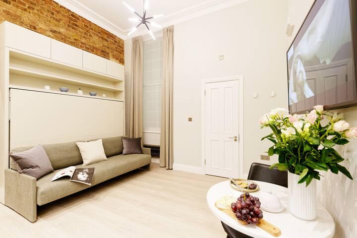 Premium studio and best location LONDON Area 1