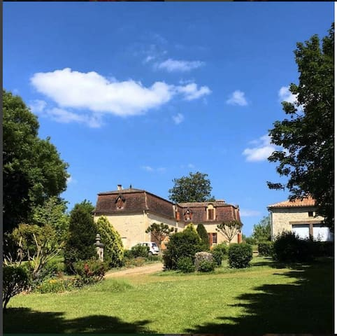 Bed and Breakfast entre St Emilion & Bergerac - Saint-André-et-Appelles - Hus