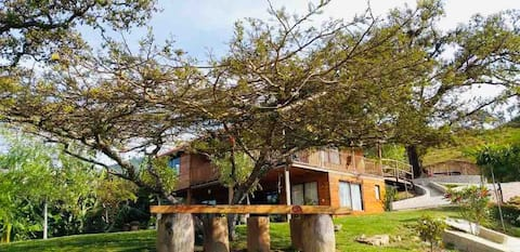 Habitación en Juquila, Oaxaca. Habitación triple.