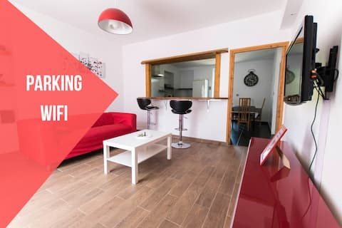 ★ Vox's house ★ spacieux ★ Parking ★ Wifi★