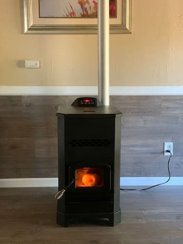 Stay cozy with our new pellet stove