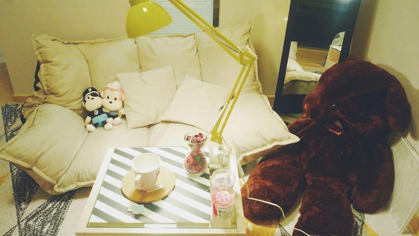慵懒时光Cozy Time/ IKEA精装修/质感单品/南都荟高级公寓/临安师大中医药交通便利/