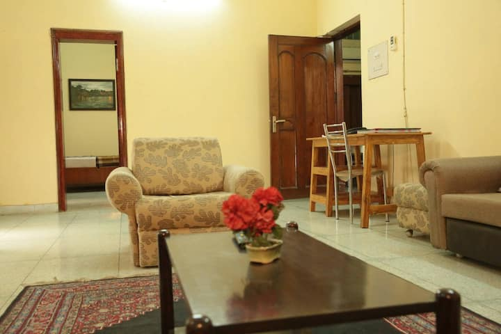 Room with Private Entrance at Shrikunj