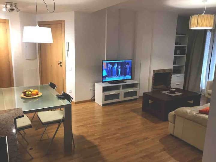 Vallfosca apartamento tranquilo y agradable