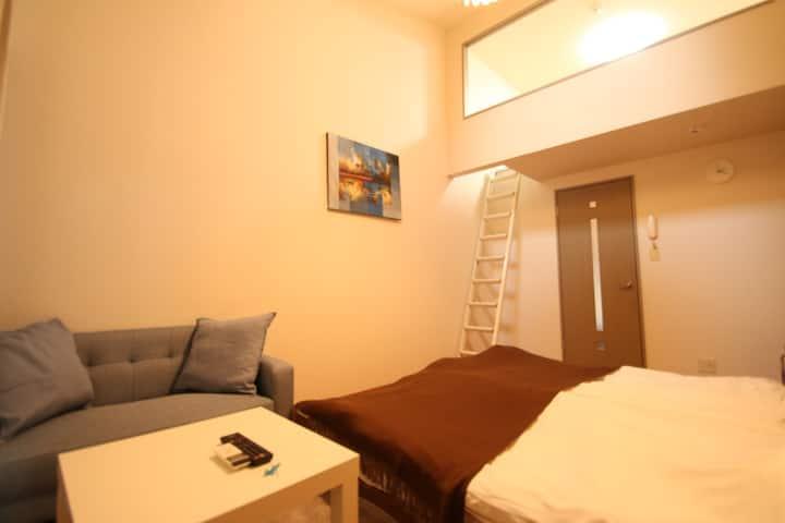 エスポアール新町Ⅴ· 熊本市中心部にあるお部屋です。FreeWi-Fiあり。熊本城まで徒歩10分