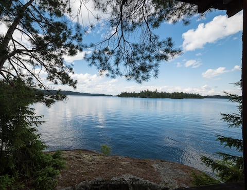Smooth Rock Island 582, Lake Temagami