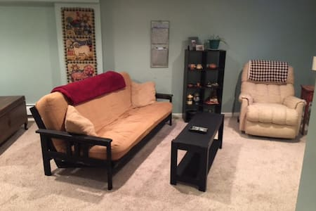 Comfy, cozy near Cornell, IC, and area wineries. - Lansing - Huoneisto