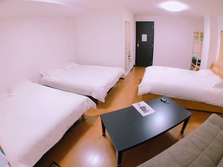 5房5套獨立衛浴,JR今宮站2分鐘,大國町地下鐵4分鐘