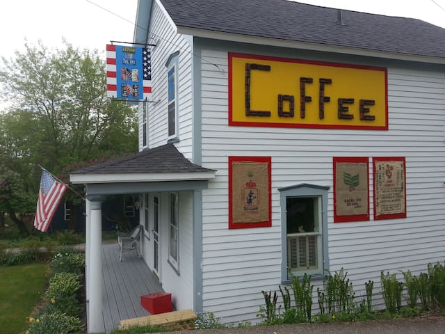 The LeMire INN& Coffee Exchange $350. Whole house