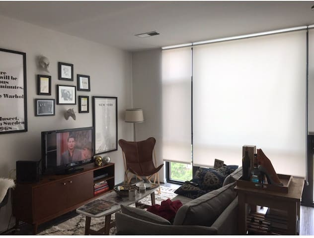 Sunny one-bedroom in the heart of Shaw