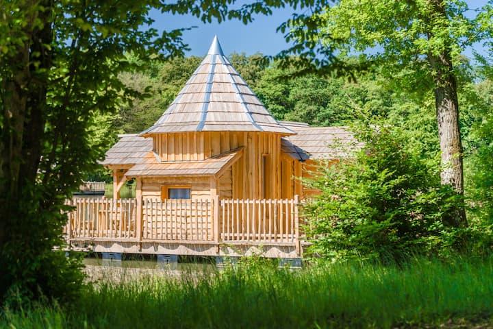 Cabane SPA Oasis pour 4 personnes