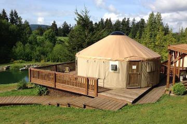 Merridale Tremlett's Yurt - Mill Bay - Yurt