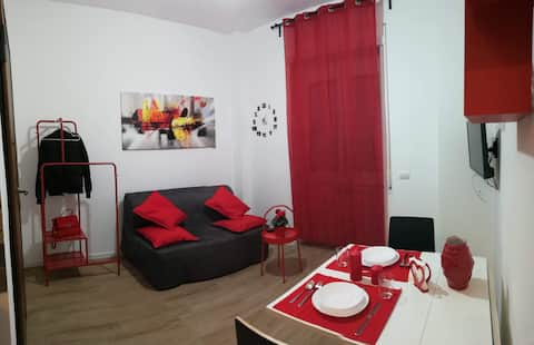 The Black Sheep apartment between Eur and Ostia Lido