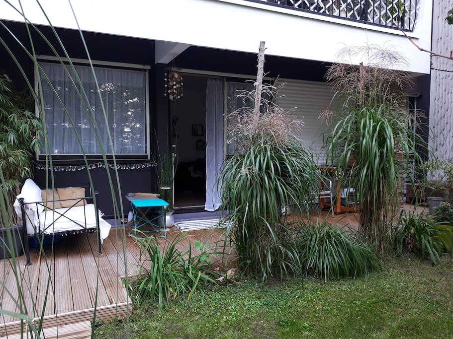 Appartement avec jardin bordeaux merignac appartements for Location appartement avec jardin bordeaux