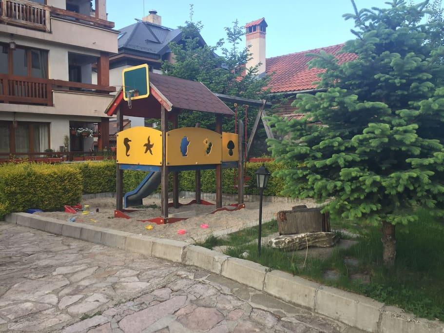 Courtyard- children playground