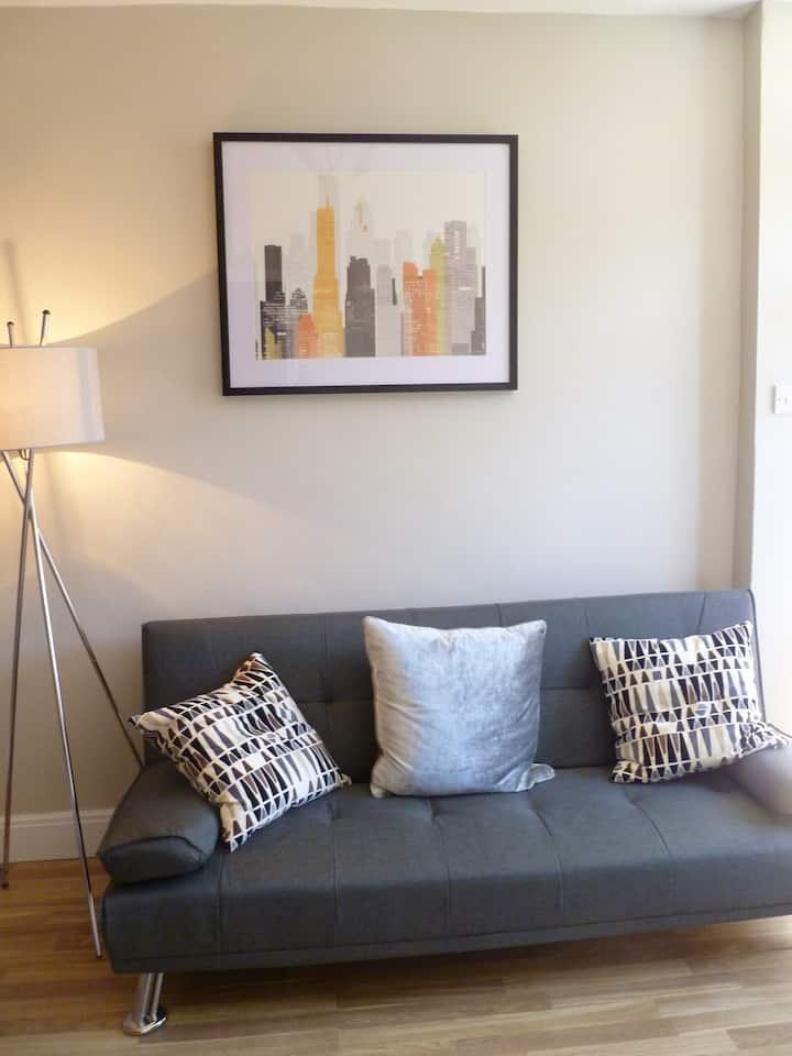One Bedroom Maisonette with Terrace, Kidderminster