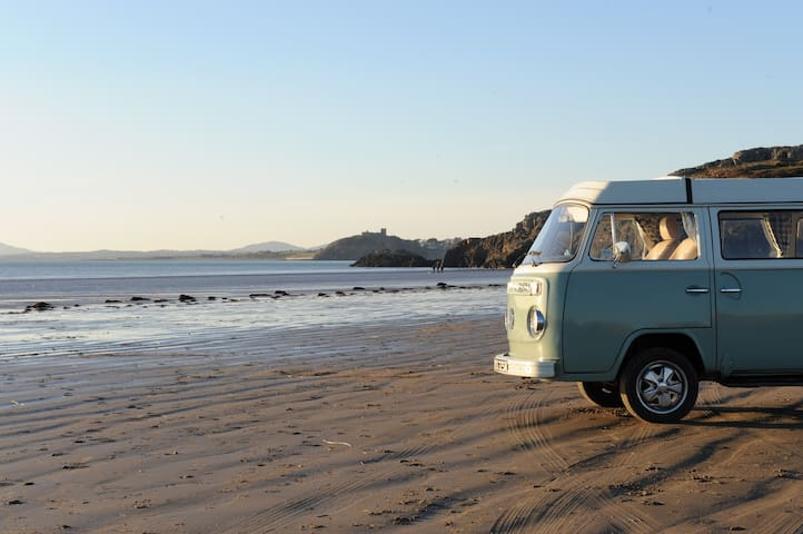 Enlli our Classic VW Campervan for Hire