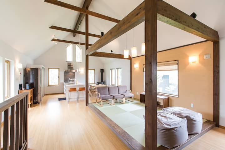 Hirafu 2Bdrm Villa (summer`21 longstay rate ok!)