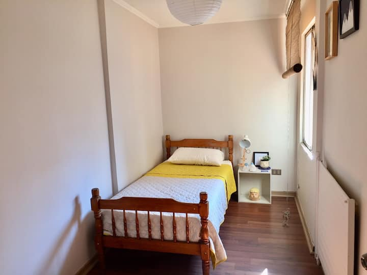 Excellent private room in the center of Santiago