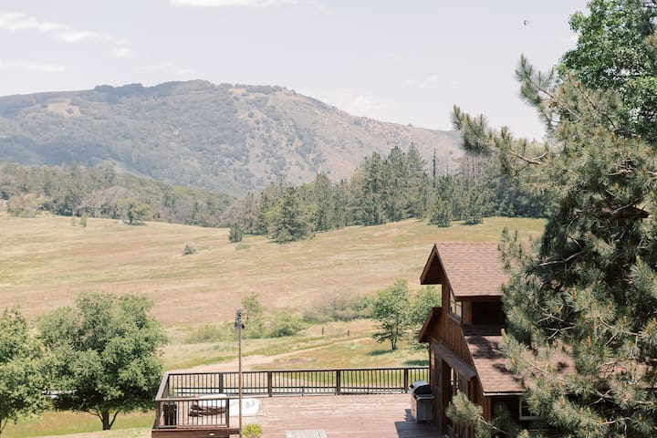 Sacred Mountain's Old Rustic Barn