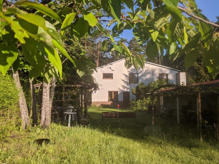 Świętokrzyskie - dom z widokiem na las apartament