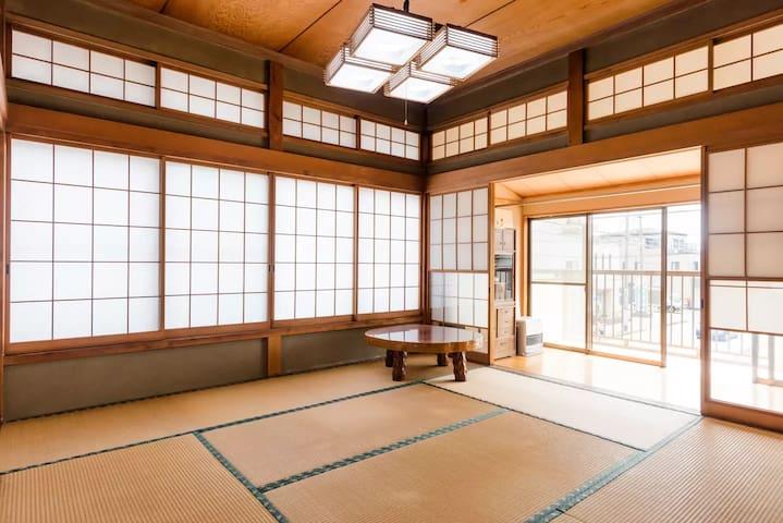 Narita&Tokyo good access/Peaceful Tatami 2 room