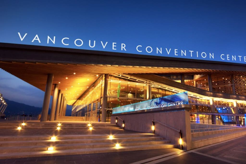 17 min walk to Vancouver Convention Centre