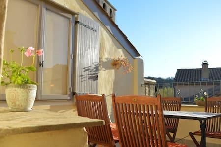 Authentic townhouse w. rooftopterrace Mont Ventoux - Malaucène - Rumah