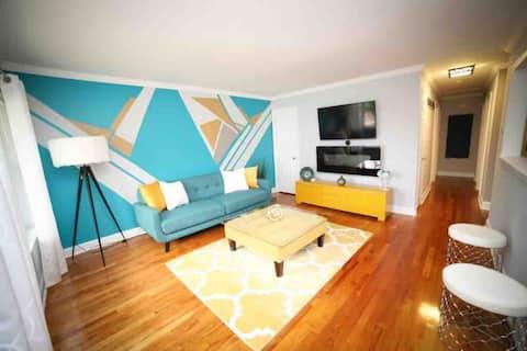 Very Stylish 3-Bedroom rental in safe neighborhood